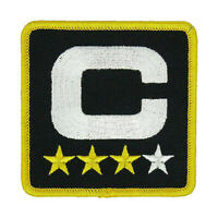 NFL Chicago Bears Captain 4 Star Patch | IRON/SEW ON | US Seller - FREE Shipping