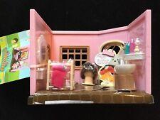 Li'l Woodzeez Baabaa Spa & Hair Salon Woodland Toy Shop Honeysuckle Hollow NEW