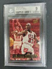 1995-96 Ultra Double Trouble #3 Michael Jordan BGS 9