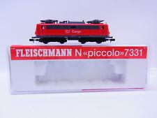 LOT 48431 Neuwertige Fleischmann 7331 E-Lok BR 139 der DB Cargo Spur N in OVP