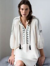 Zara Dresses for Women with Embroidered