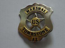 Polizeiabzeichen - Marshal US Tombstone Arizona - police badge