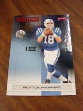 2007 Playoff NFL Red #/125 Indianapolis COLTS Team Set (6c)