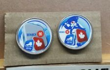 2010 VANCOUVER BMO BANK OF MONTREAL OLYMPIC WINTER GAMES 2 PIN SET