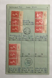 American Stamps Scott 267, 683, 688, 690 Blocks Of 3 & 4