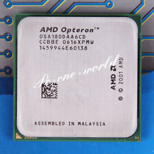 100% OK(OSA180DAA6CD)AMD Opteron 180 2.4GHz Processor Socket 939 CPU Dual-core