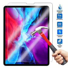 "For iPad Pro 11"" 12.9"" (2020/2018) HD Clear Tempered Glass Screen Protector Film"