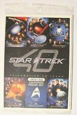 Star Trek 40th Anniversary Box Topper BT4 Voyager 0534/1900 Sealed 5x7 Card