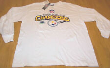 PITTSBURGH STEELERS NFL CHAMPIONS T-Shirt LARGE NEW
