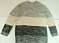 Womans UNIVERSAL THREAD Multicolor Striped Pullover Sweater Size L