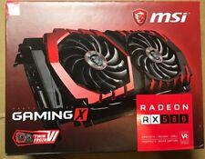 NEW* MSI Radeon RX 580 Gaming X 8gb 256-bit Gddr5 PCI Express 3