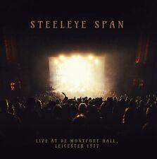 STEELEYE SPAN Live At De Montfort Hall, Leicester 1977 (2020) 2-LP NEW/SEALED