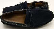 Zara Man Blue Suede Tassel Men's Loafers Sz 43/9-9.5 M Shoes