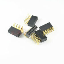 20pcs 2x6pin Header Right Angle Female Double Row Socket Connector 254mm Pitch