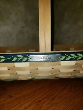 Longaberger Collector Club Flower Cutting Basket