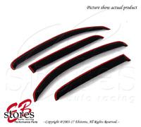 For Chevrolet HHR 2006-2011 Inner Channel Dark Smoke JDM Window Visors 4pcs
