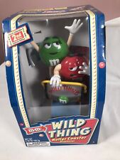 More details for m&m's wild thing rollercoaster sweet chocolate candy dispenser collectibles