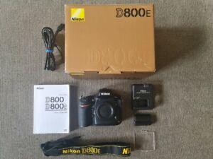 Nikon D800E 36.3 MP Digital SLR Camera Body Only***5573 SHUTTER COUNT***