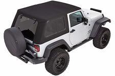 Bestop Trektop™ PRO Hybrid Top 2007-2017 Jeep Wrangler JK 2 Door 54852-17 Black