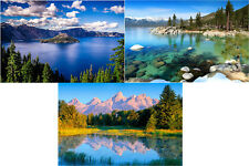 Scenic West - 3 3D Lenticular Postcard Greeting Cards