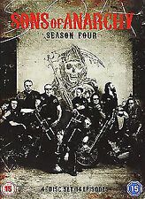 Sons Of Anarchy Season 4 DVD NEW DVD (5379001000)