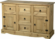 More than 200cm Solid Wood Country Cabinets & Cupboards