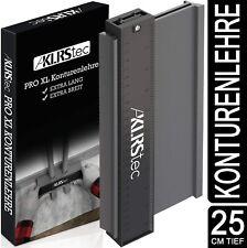 KLRStec Profi Konturenlehre extra breit - Hochwertige Nadelschablone für Profile