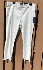 NYDJ Millie Ankle Jeans White Size 16 New With Tags