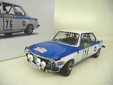 1:18 Autoart BMW 2002 Tap Rally 1972 Warmbold/Davenport #76 NEU NEW