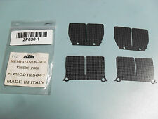 KTM SXS 125 Bj'02 original Carbon Membranen-Set Reeds