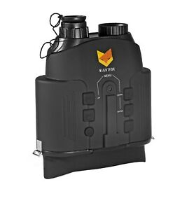 Nightfox 110R Widescreen Night Vision Infrared Binocular with Zoom 7x20