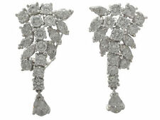 Platinum Natural Stone Fine Earrings