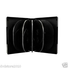 30 CUSTODIE 12 POSTI NERE 39 mm per CD DVD -R vergini verbatim custodia BOX18