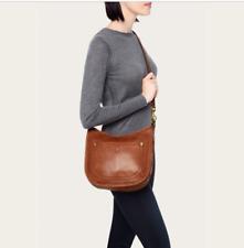 $348 NWOT FRYE Campus Rivet Crossbody Leather Bag - Saddle