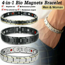 Couple Magnetic Armband Gesundheit Bio Heilende Arthritis Schmuck Geschenk DHL