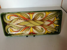 MOORCROFT TRIAL Long Tray by Sian Leeper - Boxed & Perfect