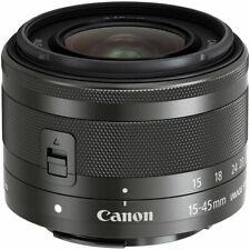 Canon EF-M 15-45mm f/3.5-6.3 IS STM Lens (Graphite) 0572C002