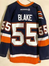 Reebok Authentic NHL Jersey New York Islanders Blake Navy KOHO sz 46