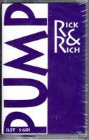 NEW Rick & Rich Pump (Let's Go) 1991 Cassette Tape Maxi Single Rap Hiphop