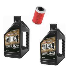 Maxima Synblend4 oil & K&N KN-655 filter service kit KTM 250SXF 2006-2012