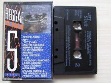 JET STAR REGGAE HITS VOLUME 5 JELC1005 CASSETTE, KOFI, LITTLE KIRK ETC: TESTED