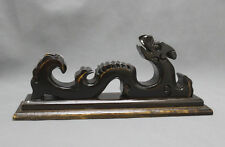 Wood Dragon Display For Katana Samurai Sword Wakizashi Tanto Stand Holder