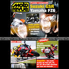 MOTO REVUE N°3692 SUZUKI GSR 600 YAMAHA FZ6 HONDA CBR 1000 RR SUZUKI GSXR 2005