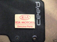 KIA CEED - FRONT AND REAR  CARPET MAT SET GENUINE 2013 - A2143ADU10