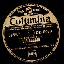 HARRY JAMES & HIS ORCHESTRA  Ciribiribin / Sweet Georgia Brown    78rpm X1442