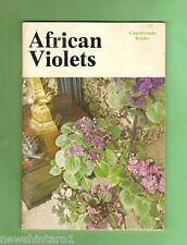 #D112. 1976 Booklet On African Violets