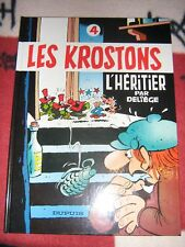 BD les krostons n°4 l'héritier EO 1984 TBE deliege