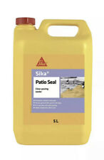 Sika Patio Seal Water Based Paving Stone Sealer Enhancer Clear 5ltr - Free Post
