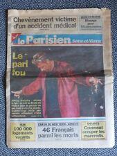 JOHNNY HALLYDAY - Journal Le Parisien - Stade de France 1998