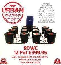 20L 12 Pot Système & Flexi 4 Lane Pour Grow Espace 2 x 1,5 m RDWC Propagateur